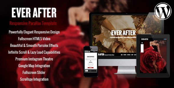 Ever After – OnePage Parallax WordPress Theme