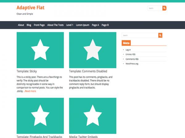Adaptive Flat