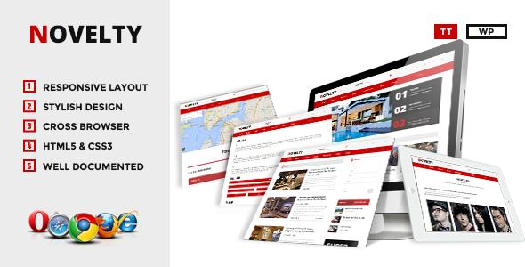 Novelty – WordPress Blog/Magazine