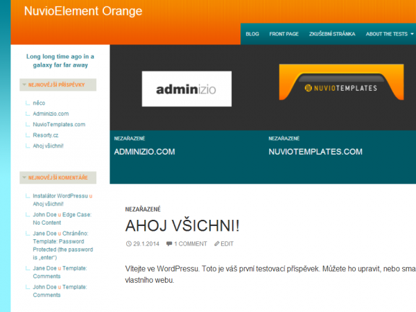NuvioElement Orange