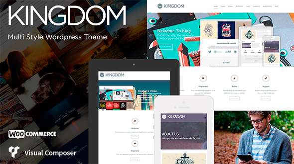 Kingdom – Responsive Multi-Purpose Retina Theme