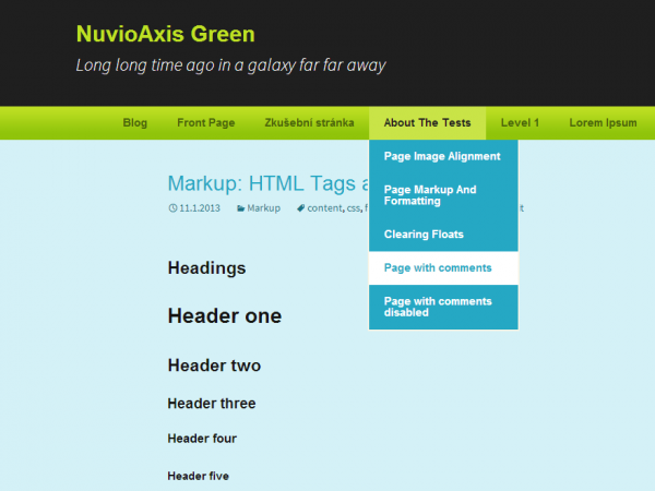 NuvioAxis Green