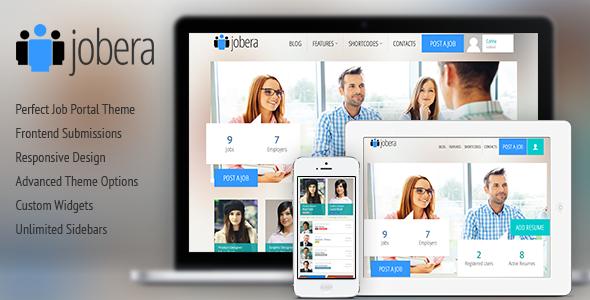 Jobera – Job Portal WordPress Theme
