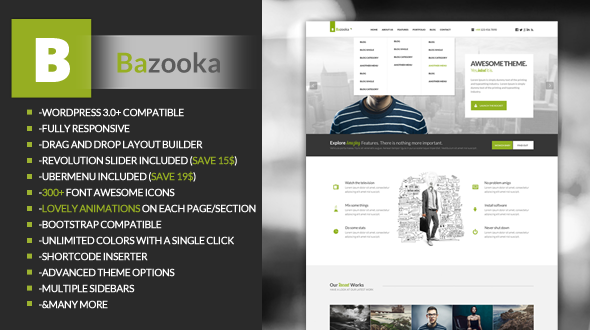 Bazooka WordPress Responsive