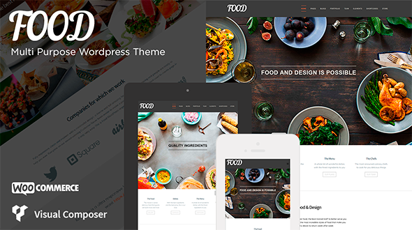 Food – Responsive Multipurpose Retina Theme