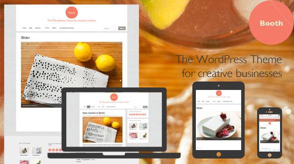Booth: The WordPress Theme for Modern Makers