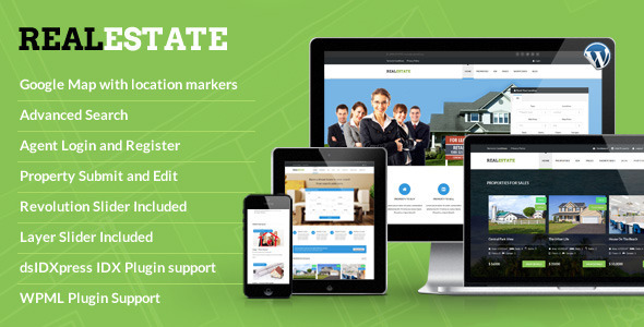 RealEstate – Responsive Real Estate Theme