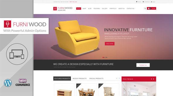 FurniWood – WooCommerce Responsive Theme
