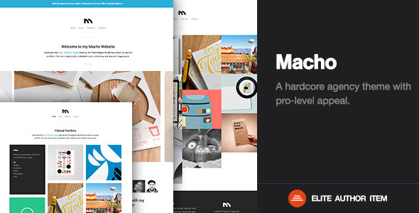 Macho | Creative Agency & Business WordPress Theme