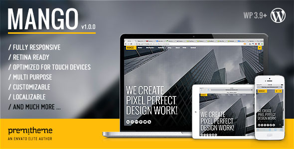 Mango – Responsive Multipurpose/creative WP Theme