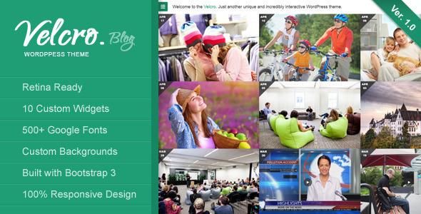 Velcro – Retina Responsive WordPress Theme