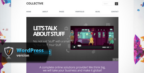 Collective – Professional WordPress Theme