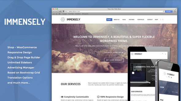 Immensely – Responsive Multi-Purpose Theme
