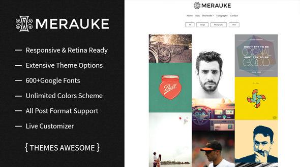 Merauke – Portfolio & Modern Blog Theme