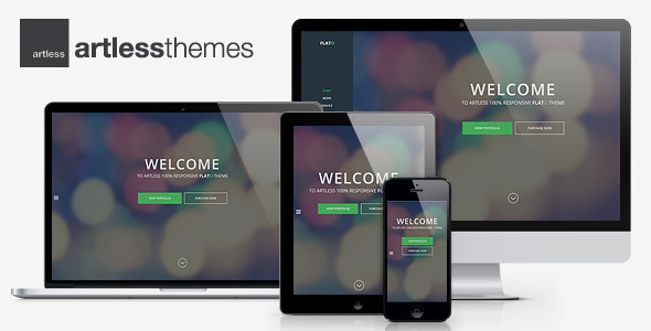 Flato – Parallax One Page WordPress Theme