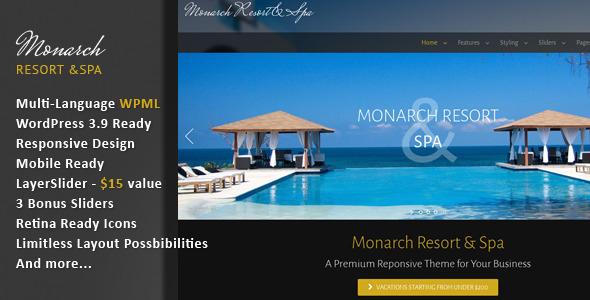 Monarch – Responsive Multi-Language Theme