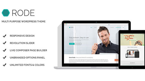 RODE Multipurpose WordPress Theme