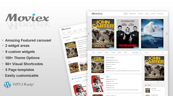 Moviex – Premium Clear Video Theme