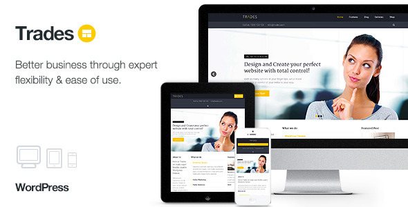 Trades – Multi-Purpose Business WordPress Theme
