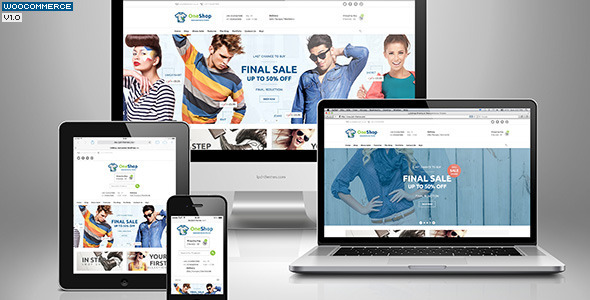 123Shop eCommerce WordPress Theme