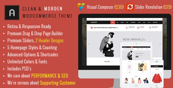 Aloma – Multipurpose WooCommerce Theme