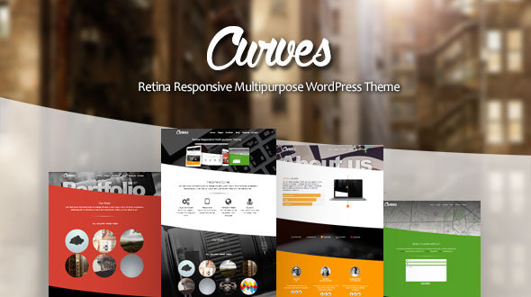 Curves – Retina Responsive Multi-purpose WordPress Theme