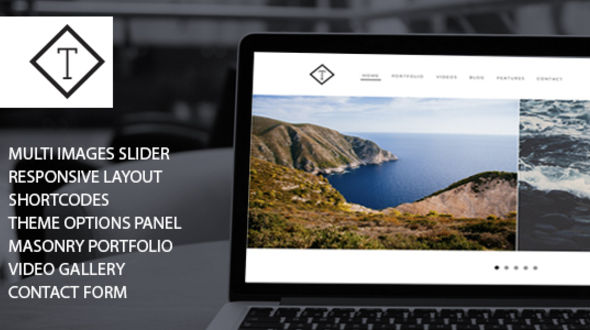 Tavira – Creative Portfolio WordPress Theme