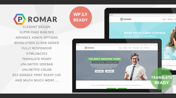 Promar – Premium WordPress Theme
