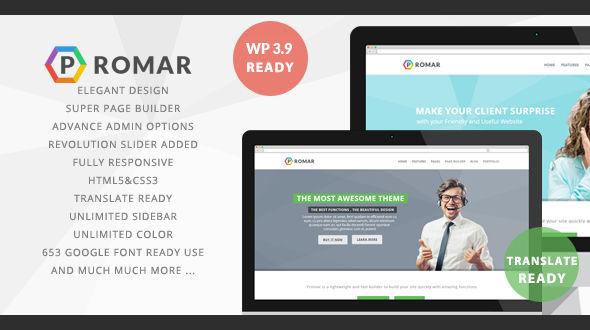 Promar – Premium WordPress Theme