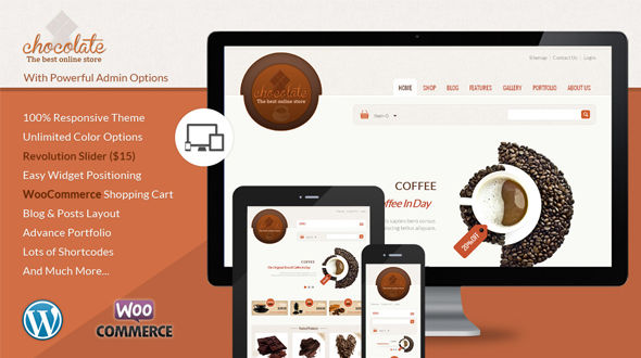Chocolate – WooCommerce Responsive Theme