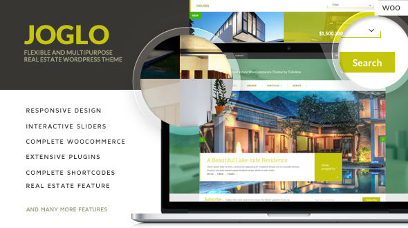 Joglo – Woocommerce Real Estate Theme