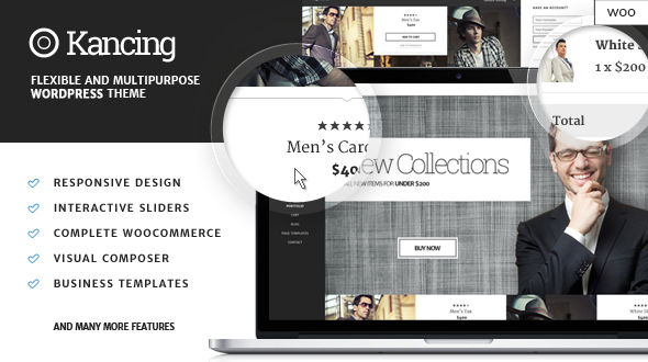 Kancing – Fashion WooCommerce WordPress Theme