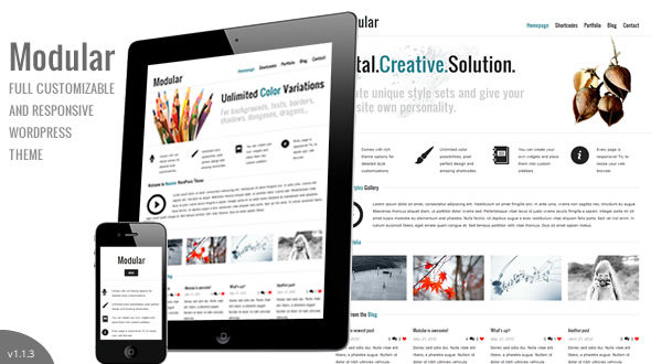 Modular WordPress Theme