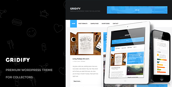 Gridify – Premium WordPress Theme for Collectors
