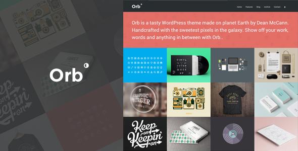 Orb. A Neat Grid Style Portfolio Theme