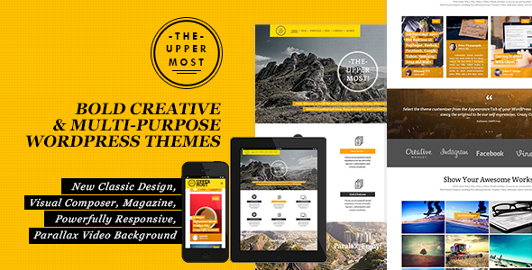 Uppermost – Bold Creative & Multipurpose WP Theme