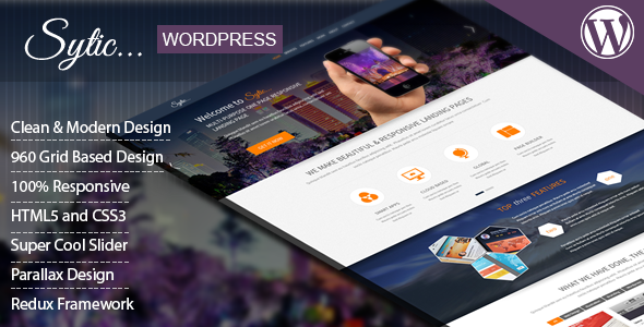 Sytic – WP Responsive Multipurpose Theme