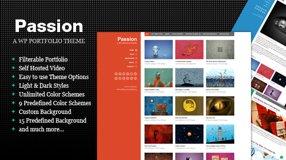 Passion – WordPress Portfolio Theme