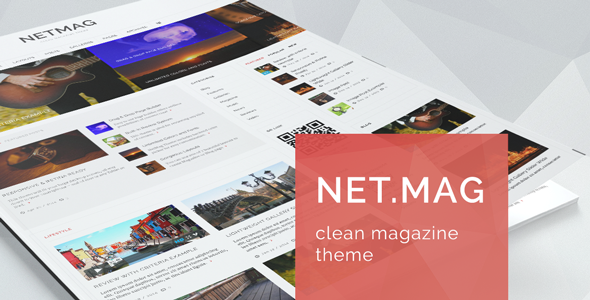 NetMag – Clean Review Magazine Theme