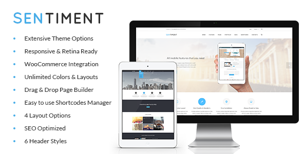 Sentiment – Retina Responsive Multi-Purpose Theme
