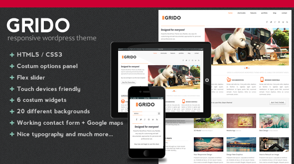 Grido – Responsive WordPress Theme