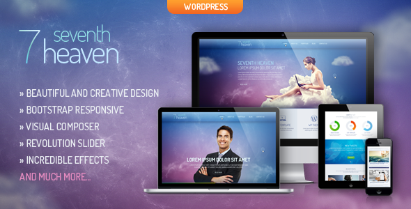 Heaven – Creative & Responsive WordPress Theme