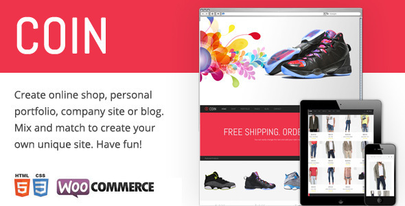 Coin – Responsive Multi-Purpose Theme