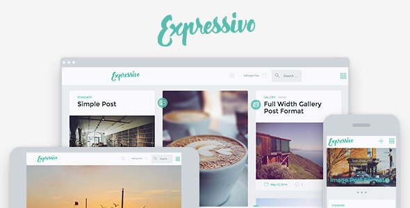 Expressivo – Lifestyle Masonry WP Blog Theme