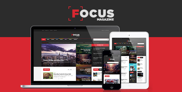 Focus News & Magazine WordPress Theme
