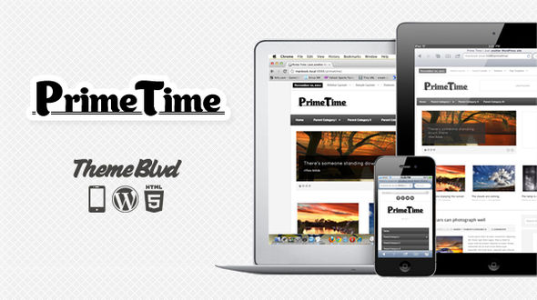Prime Time Responsive WordPress Theme