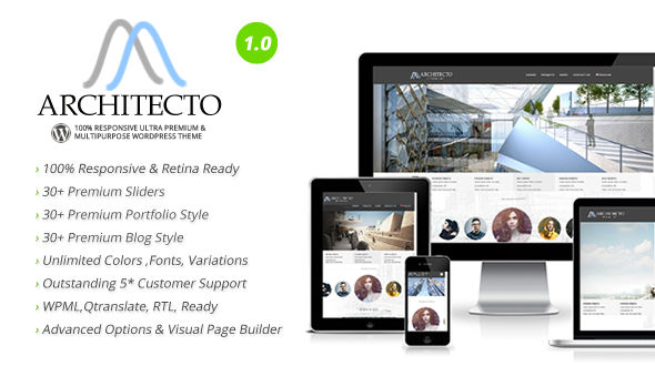 Architecto – Premium Responsive Architect WordPress Theme