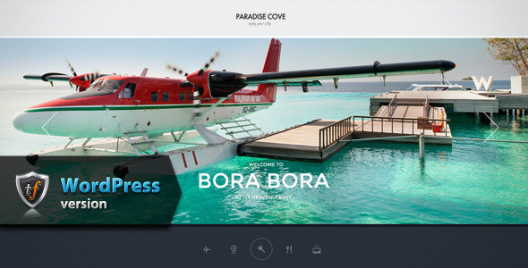 Paradise Cove – Hotel WordPress Theme
