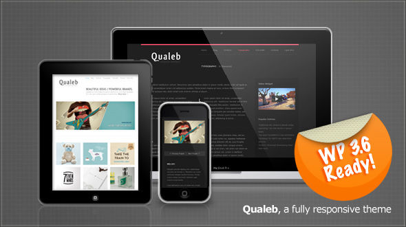 Qualeb: Responsive Premium WordPress Theme