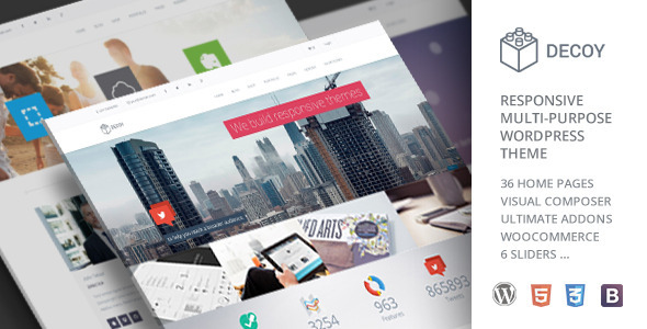 Decoy – Responsive Multi-Purpose WordPress Theme